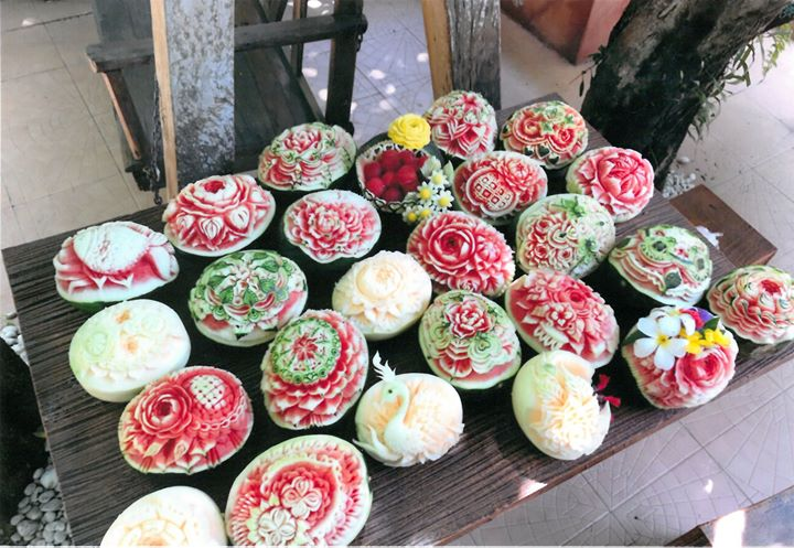 018 soap fruits candle carving exhibition atelier be free